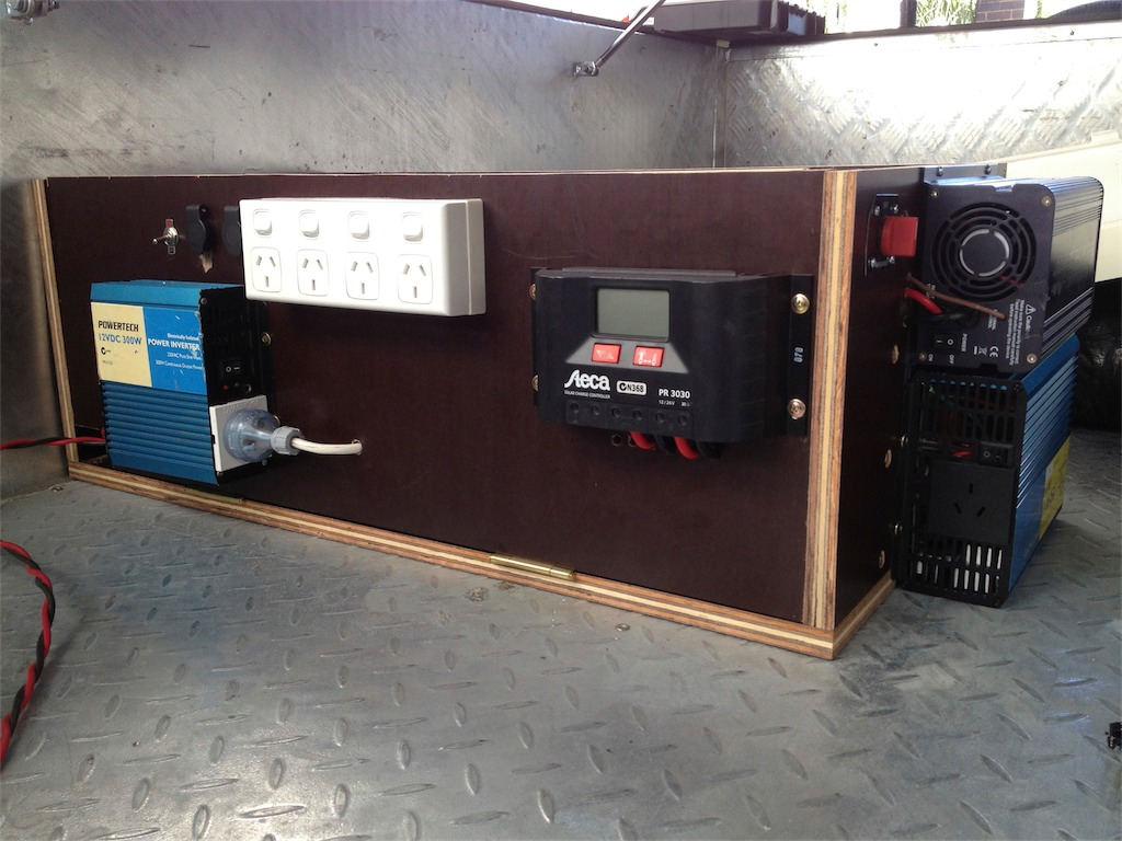 Camper Electrical System : Camper trailer power system with brilliant picture